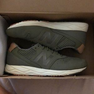 Brand new olive new balance sneakers